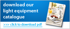 Download our light equipment catalogue