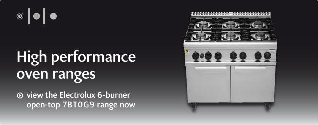 view the Electrolux 6-burner open-top 7BT0G9 range now