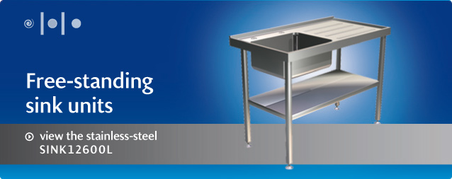 view the stainless-steel SINK12600L