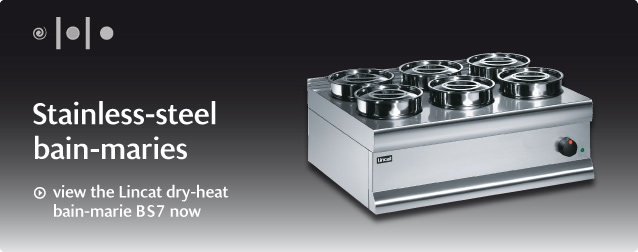 view the Lincat dry-heat bain-marie BS7 now