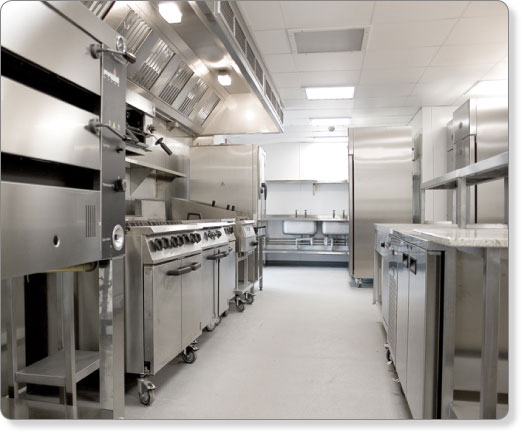Newcastle College Kitchen