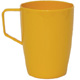 Yellow Polycarbonate Beaker with Handle H0907
