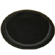 Black Narrow Rimmed Polycarbonate Plate (23cm/ 9
