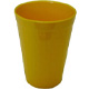 Yellow Fluted Polycarbonate Tumbler (20cl/ 7oz) H2007
