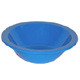 Blue Polycarbonate Rimmed Bowl H2808