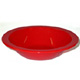 Red Polycarbonate Rimmed Bowl H2810