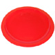 Red Narrow Rimmed Polycarbonate Plate (23cm/ 9