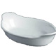 Oval Eared Dish 25cm B23A-W Pack of 4
