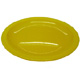 Yellow Narrow Rimmed Plate (23cm/9