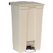 Rubbermaid 87L Beige Step -On Container FG614600