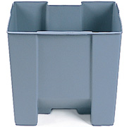 Rubbermaid Rigid Liner for 30L Step- On Container FG624300 Pack of 2