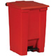 Rubbermaid 45L Red Step -On Container FG614400