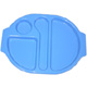 Blue Polycarbonate Meal Tray (Large) H1408