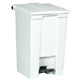 Rubbermaid 45L White Step -On Container FG614400