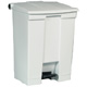 Rubbermaid 68L White Step -On Container FG614500