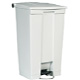 Rubbermaid 87L White Step- On Container FG614600