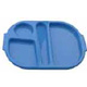 Blue Polycarbonate Meal Tray (Small) H3108