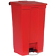 Rubbermaid 87L Red Step -On Container FG614600