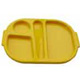 Yellow Polycarbonate Meal Tray (Small) H3107