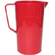 Red Polycarbonate Jug (1.1 Litre) H4010