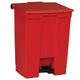 Rubbermaid 68L Red Step -On Container FG614500