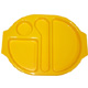 Yellow Polycarbonate Meal Tray (Large) H1407