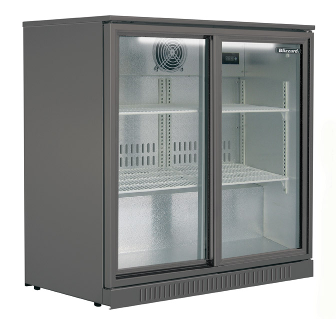 Blizzard Bottle Cooler Double Sliding BAR 2 S/L