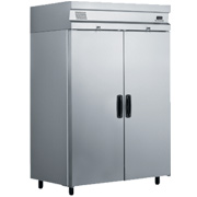 Inomak Upright Refrigerator Double Door CE2140