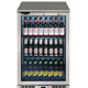 Lec BC6007G Single Hinged Silver Bottle Cooler